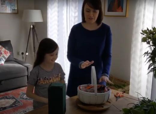 Make a Flower Basket! Part One